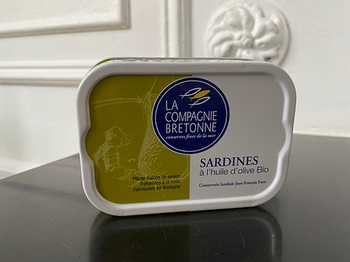 Sardines à l'huile d'olive Bio 2019