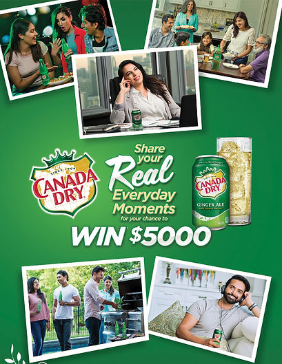 Client: Canada Dry  Agency: Ethnicity  Project: Real Everyday Moments  Photography: TBM