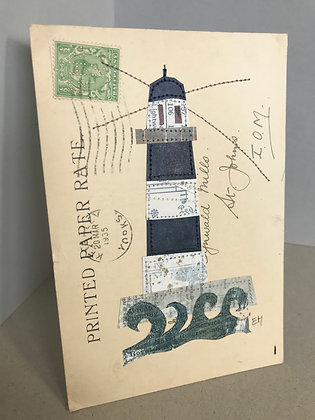 Mini collage: Lighthouse