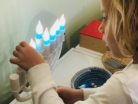 The Miracle of Intentional Holidays - Our Story of Hanukkah
