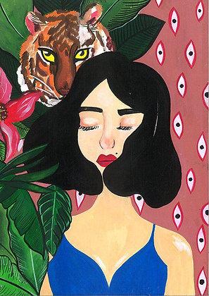 Beast in Disguise/ Elsa by Charuka Arora