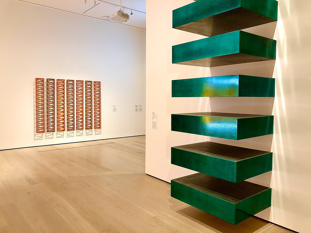 4th floor gallery in The David Geffen Wing, photo courtesy of Aicon Art