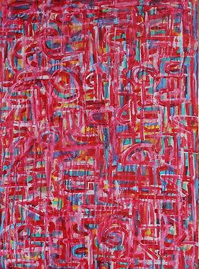 Untitled, 22 x 30 inches, mixed medium o