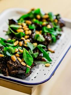 Brochettes de boeuf à l'asiatique