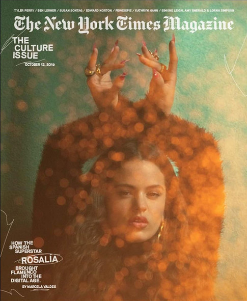 Rosalía for New York Times Magazine