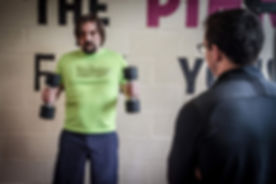 Simon Dalley from Rossendale Personal Training Client in Burnley