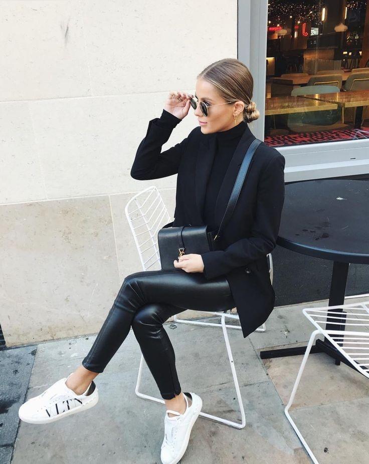 Printemps Été 2021 Mode Veston Jeans Cuir