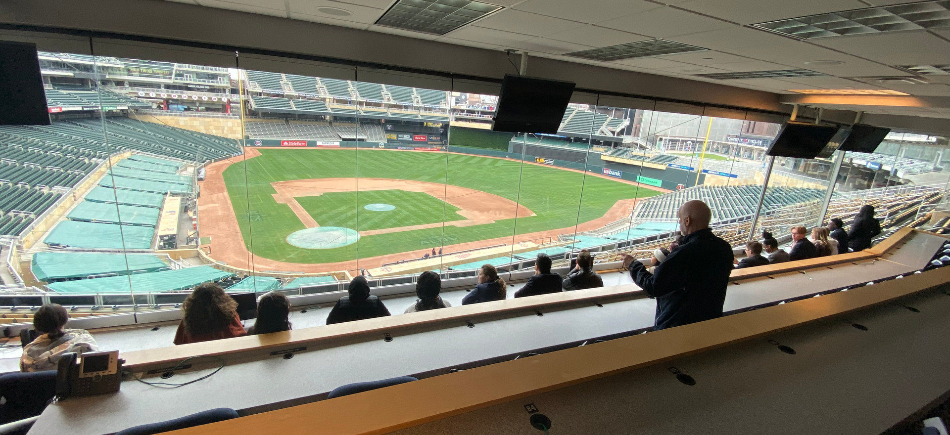 Target Field Press Box