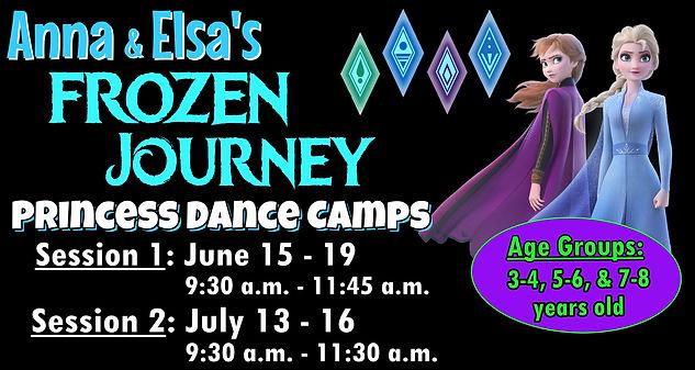 Academy Dance, Summer Dance Camp, Frozen 2