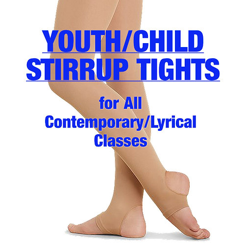 Youth/Child Stirrup Tights