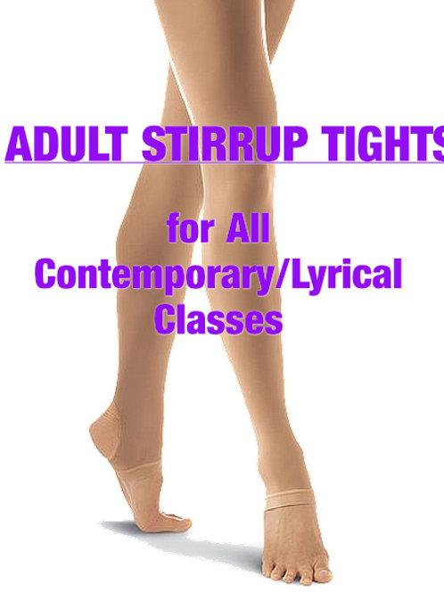 Adult Stirrup Tights