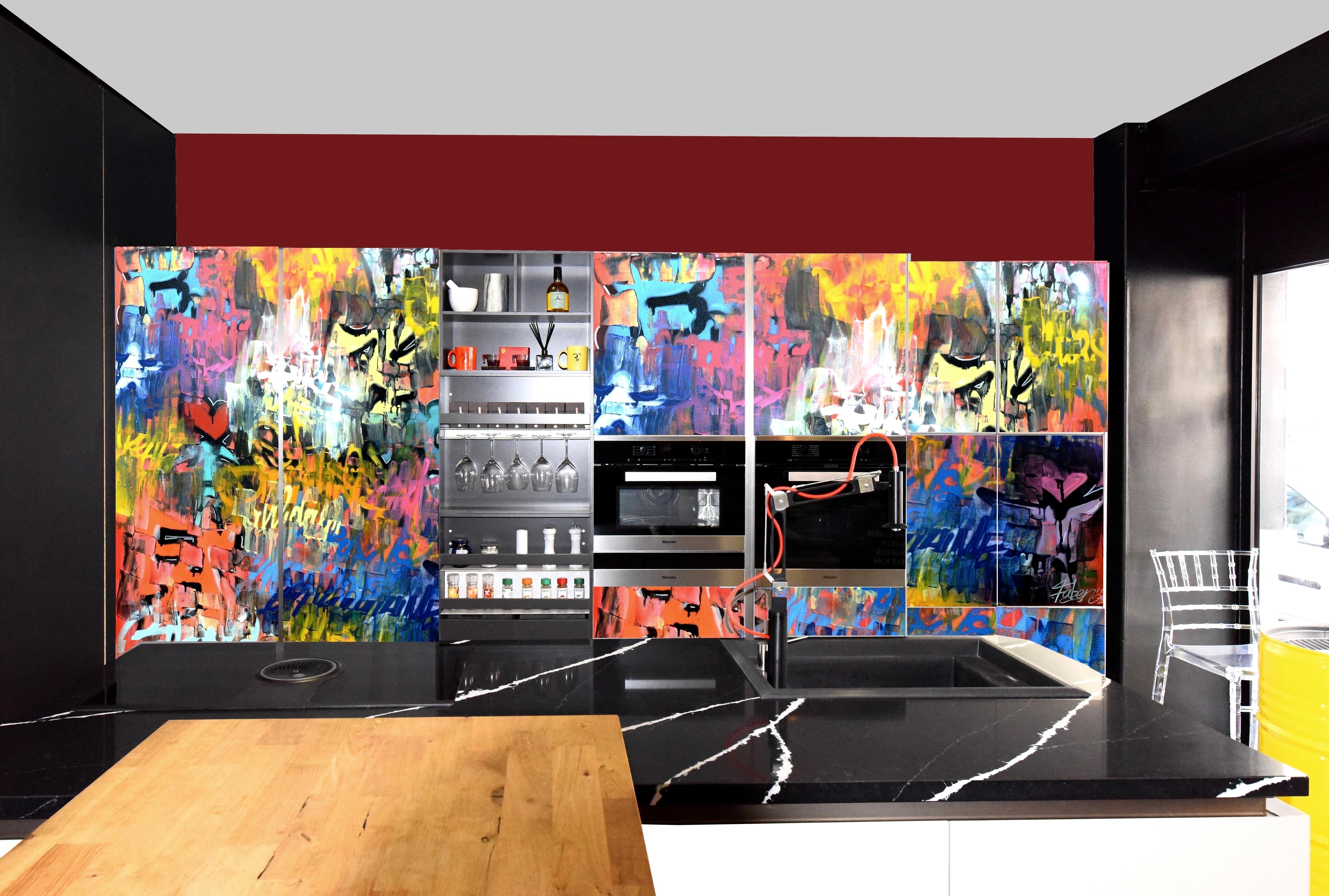 Cuisine design and Graff