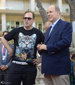 SAS  Prince Albert de Monaco et Shoe