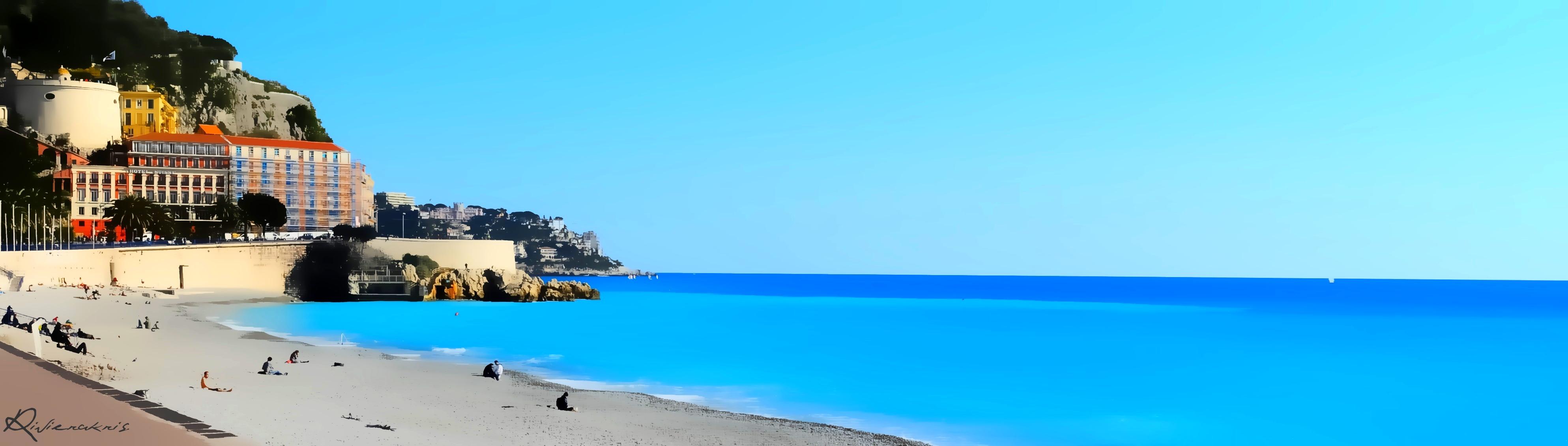 Nice en bleu
