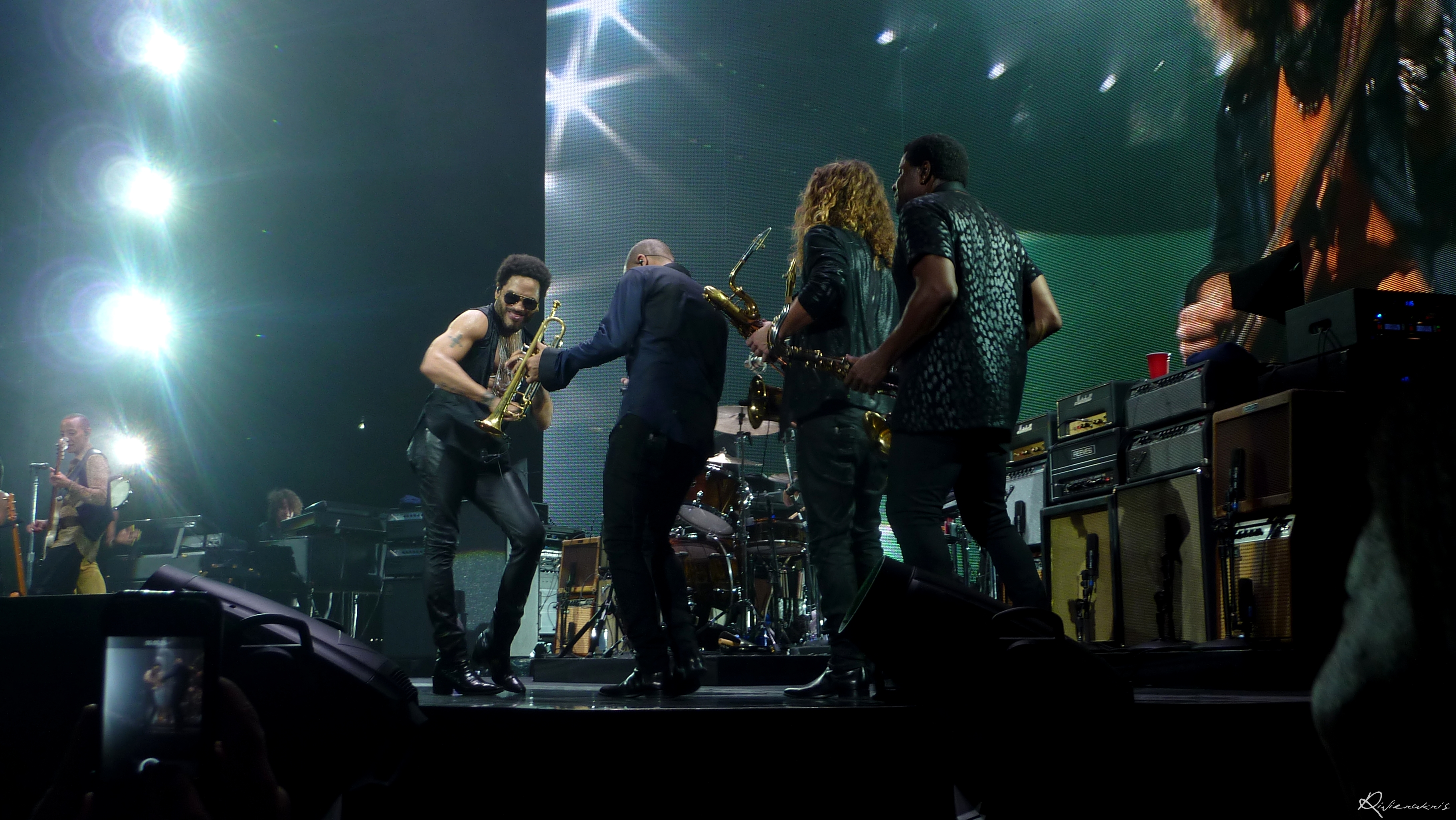 Lenny Kravitz and Band