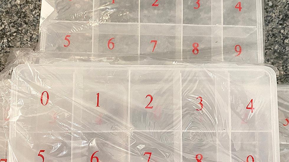 Nail Tip Storage Boxes