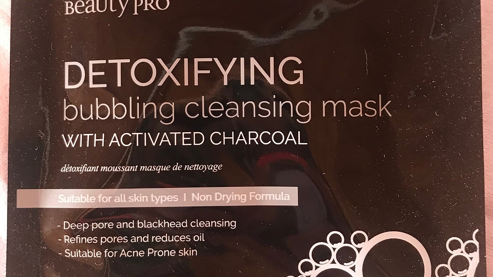 Detoxifying Bubbling Cleansing Mask