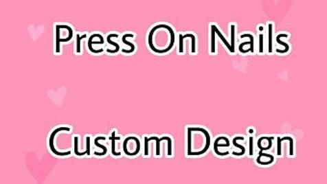 Press on Nails - Custom Design