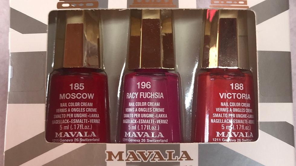 Mavala The Three Kings Set