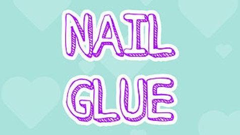 Nail Glue - 2g or 10g Brush on Glue
