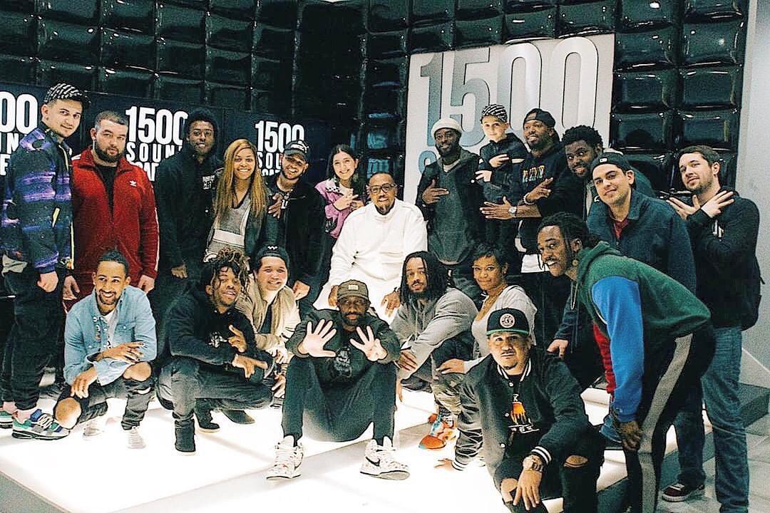Timbaland at 1500 Sound Academy