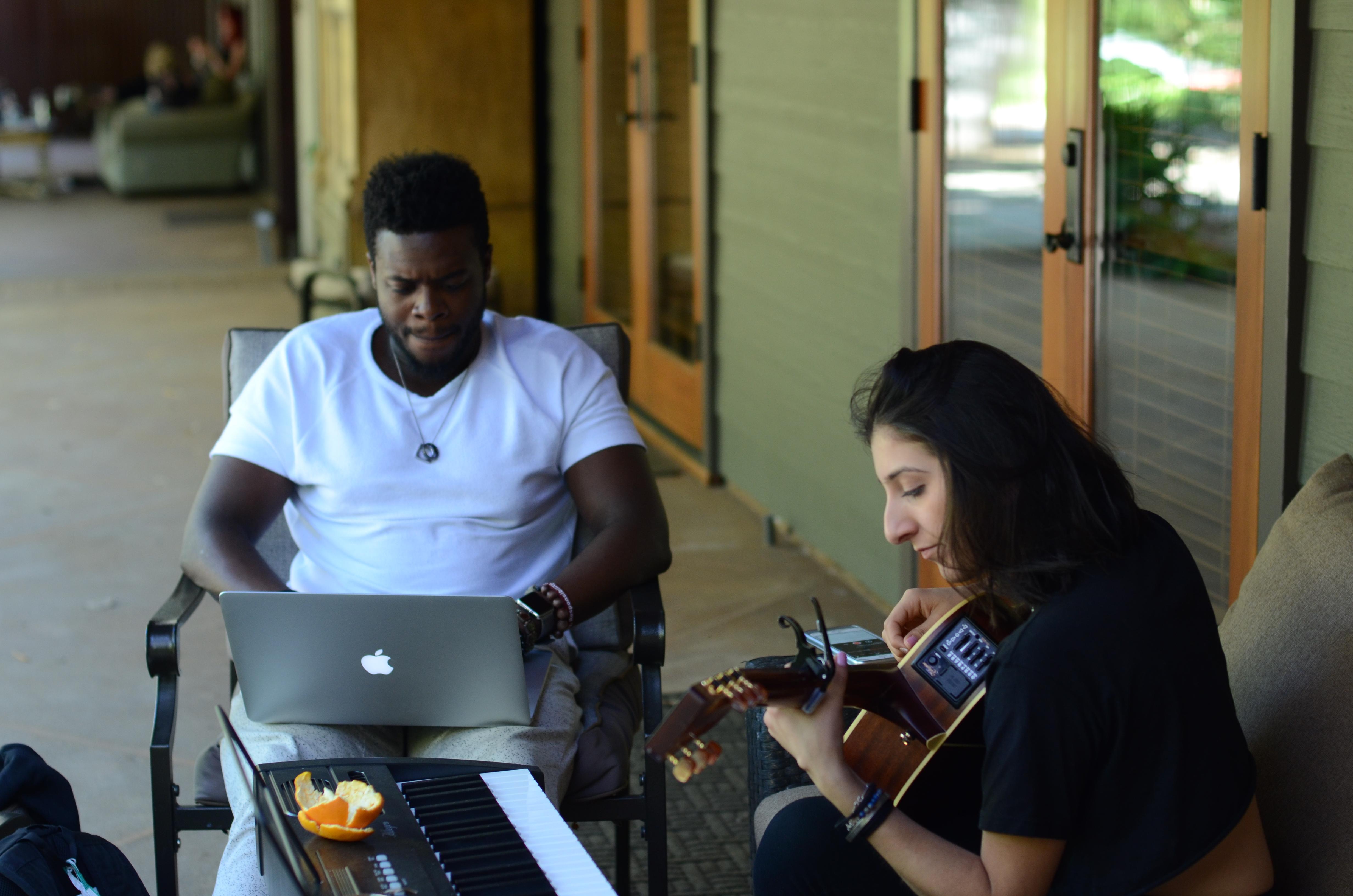 Kevin Olusola & Maya Batra