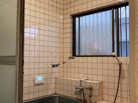 冬までにしたい!浴室リフォーム 解体編