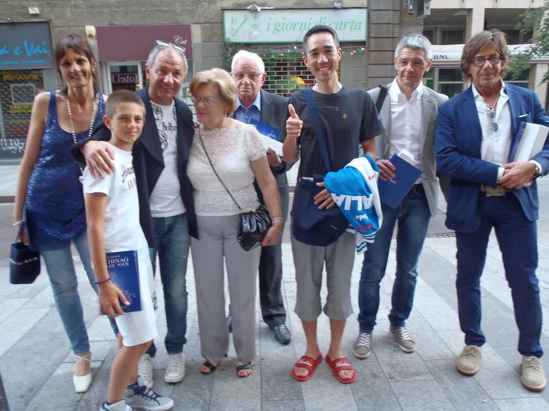 イタリア デ・ローザ訪問