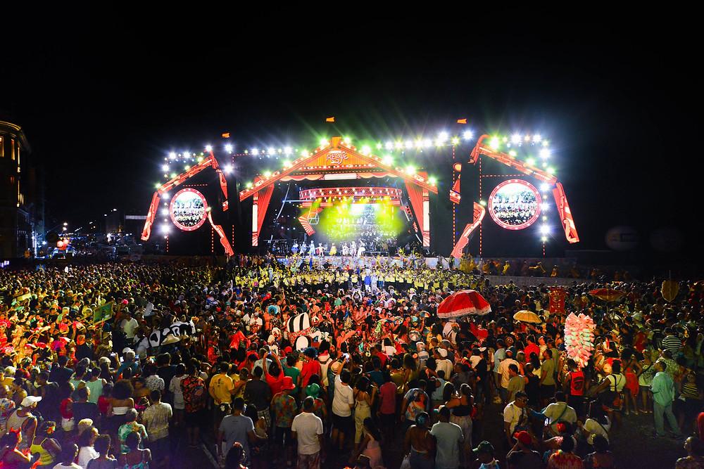 21.02.2020 - Cortejo durante Abertura do Carnaval - Recife Antigo