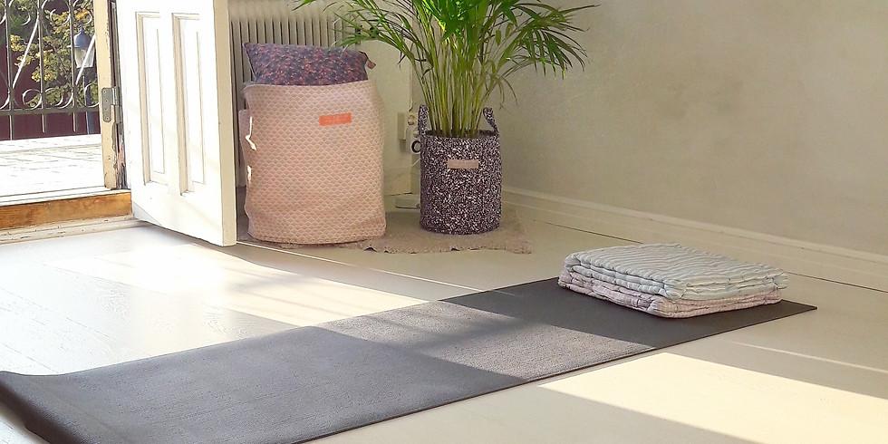 Kurs i yoga på fortsättningsnivå