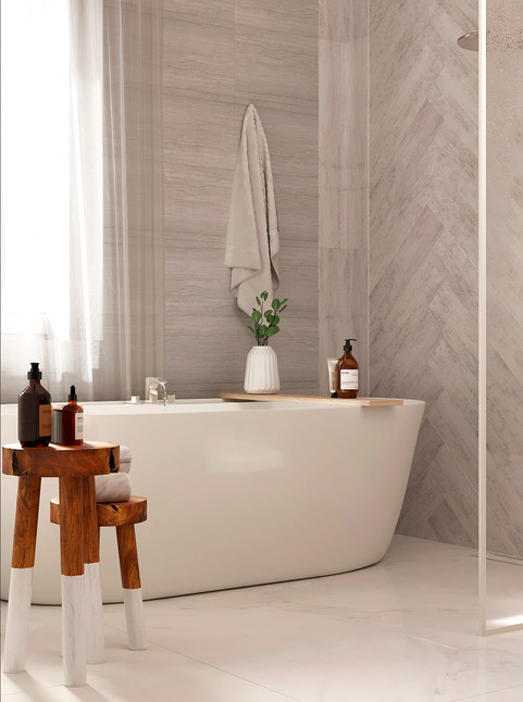Ванная комната в Американском стиле