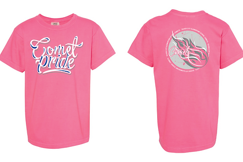 Adult Pink Comet Pride T-shirt