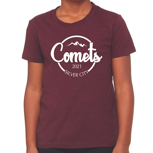 Youth Jersey T-Shirt Maroon