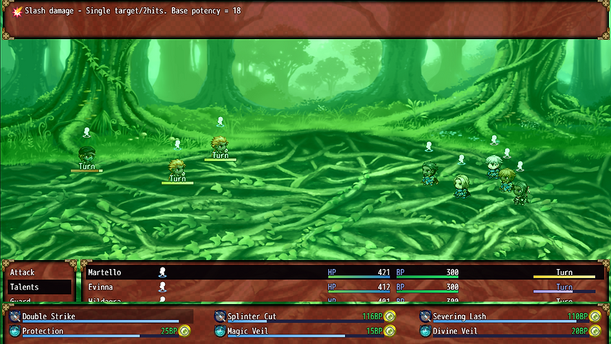 Howling Forest Combat