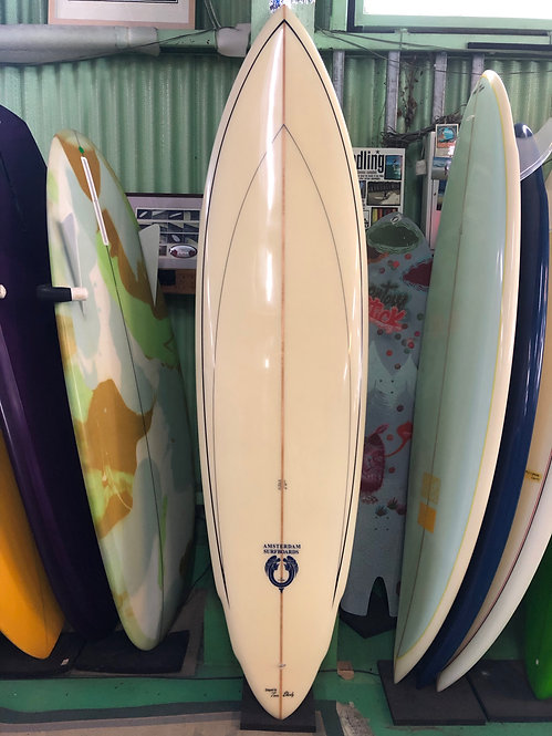 "◆20%OFF◆6'4"" Double Wing Pin / Amsterdam Surfboards by Joel Tudor"