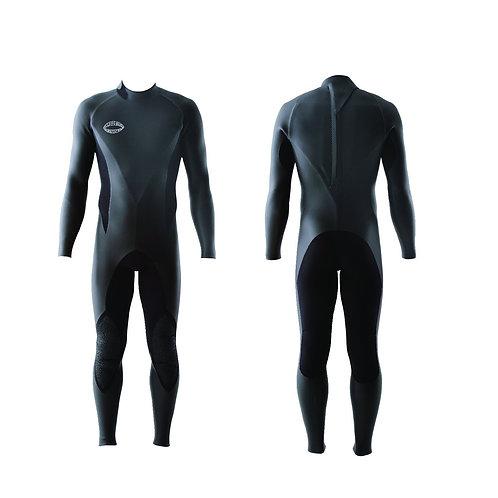 Mens Full Suit Back Zip