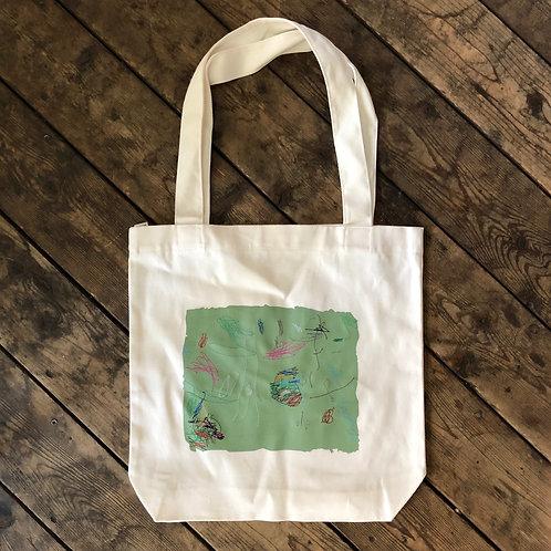 BRADFORD Hand Sewn Art Tote Bag
