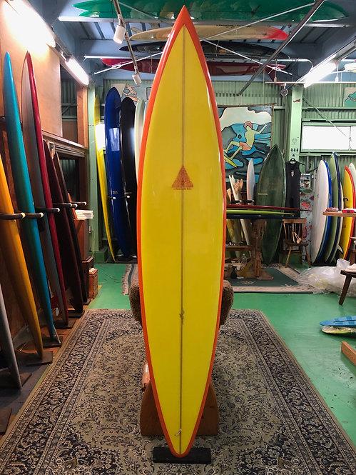 """7'10""""  Diamond Gun / Surfboards by Joel Tudor shaped by Stu Kenson"""