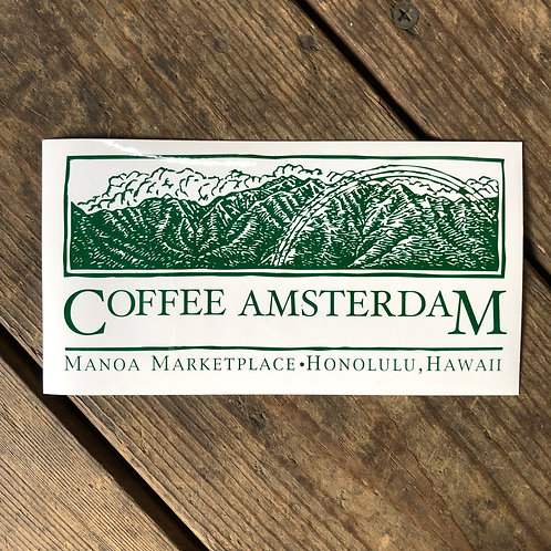 COFFEE AMSTERDAM Sticker