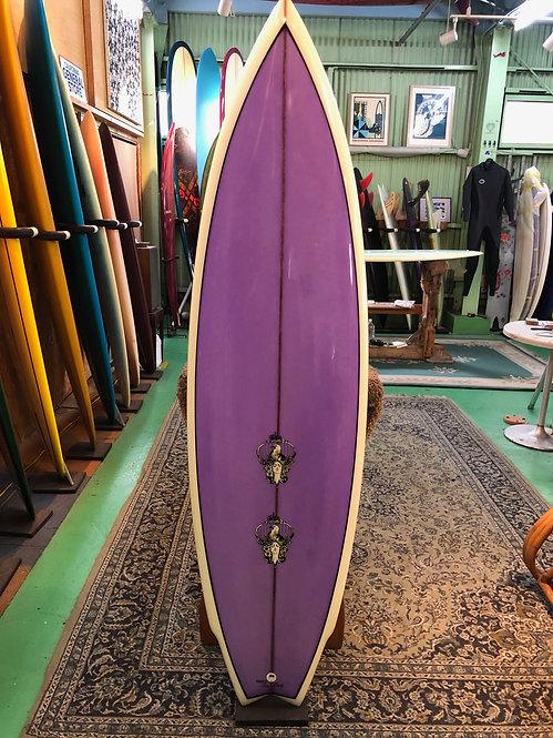 """◆30%OFF◆6'1"""" 80's Twin / Surfboards by Joel Tudor"""