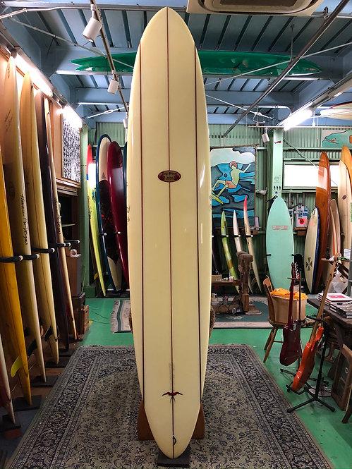 "【VINTAGEcirca1990】9'8"" DT1(Speed Shape) / Hawaiian Pro Designs"