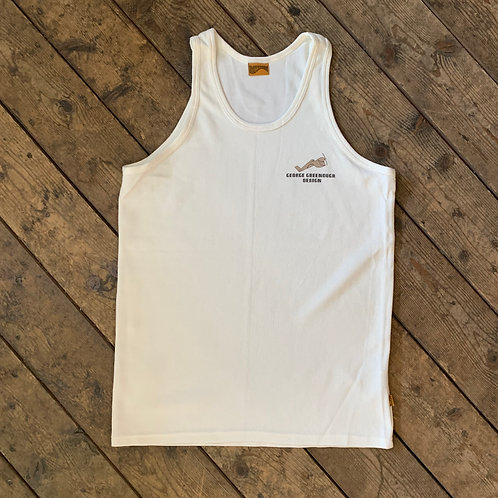 "Men's ""Towel"" TankTop / GeorgeGreenoughDesign"
