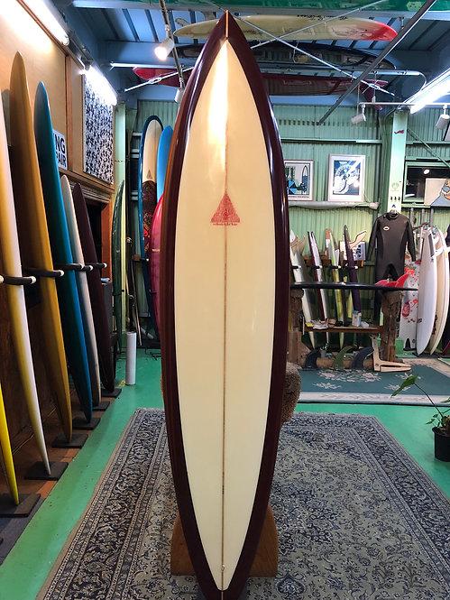 "7'6"" Diamond Gun/ Surfboards by Joel Tudor"