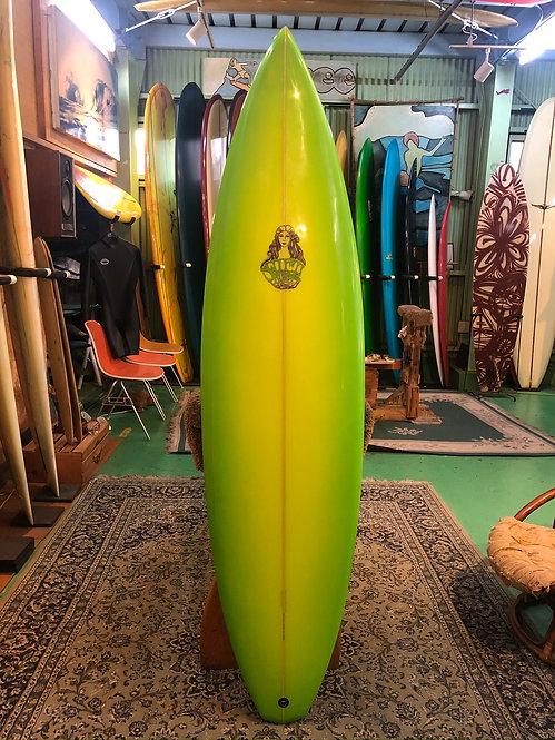"""【VINTAGE 2000's】6'6""""  SWIFT SURFBOARD/Andrew Kidman"""