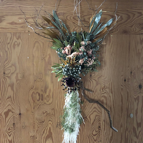 Dry Flower Wreath / BIRDIE