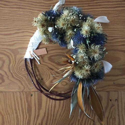 Dry Flower Wreath / BIRDIE