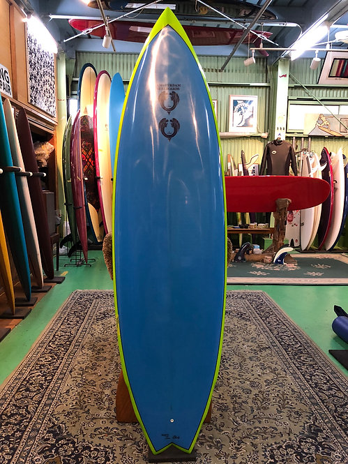 """◆30%OFF◆6'2"""" Double Wing swallow /Amsterdam Surfboards"""