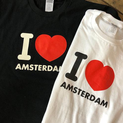 """I LOVE AMSTERDAM T-SHIRT"" / AMSTERDAM"