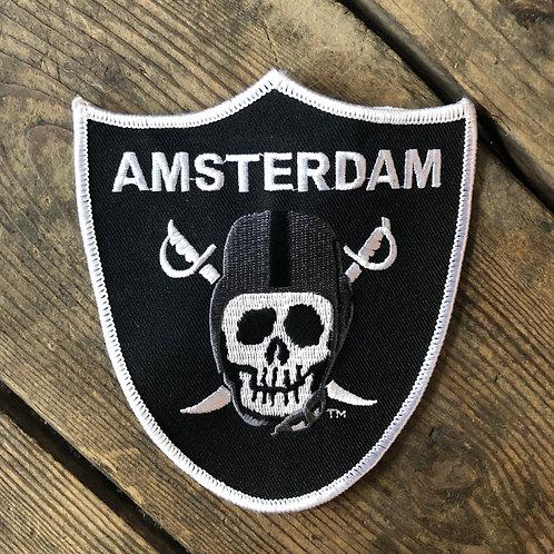 "AMSTERDAM ""SKULL PATCH"""