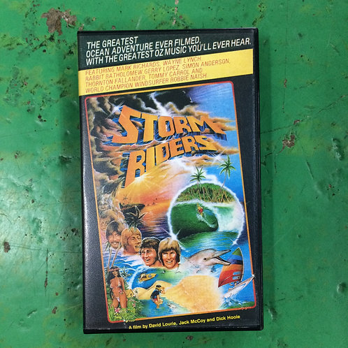 VHS-STORM RIDERS-